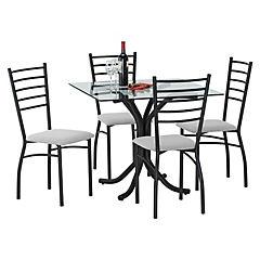 Comedor jasper 4 sillas Crudo