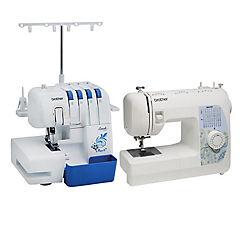 Combo overlock 3534d+ maquina de coser bm3700