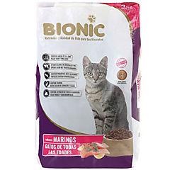 Comida gato de todas las edades - sabores marinos 3kg