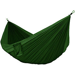 Hamaca Premium verde outdoor camping