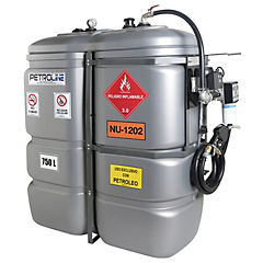 Estanque combustible tank in tank diesel 750 lts.