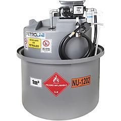 Estanque combustible isla tank diesel 1.000 lts./12 v
