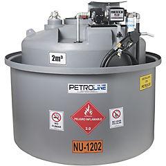 Estanque combustible isla tank diesel 2.000 lts./220 v