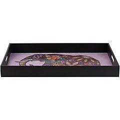 Bandeja 52x34 cm Elefante