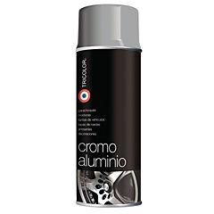 Set 6 Spray pintura metalizada 485 ml cromo aluminio