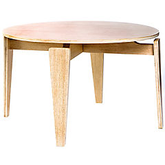 Mesa de centro madera flatty madera natural