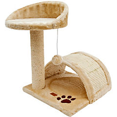 Rascador para gatos con plataformas - iglú