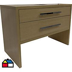Mueble tender 80x52x85 cm light oak sin lavamanos