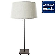 Lámpara de mesa argus óxido 2 luces E27 40W