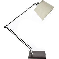 Lámpara de escritorio articulado de ecocuero E27 40W