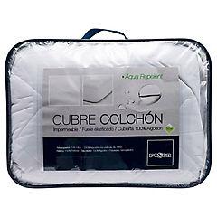 Cubre colchón aqua repelent 90x200 cm 1 plaza long
