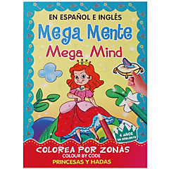 Libro mega princesas y hadas