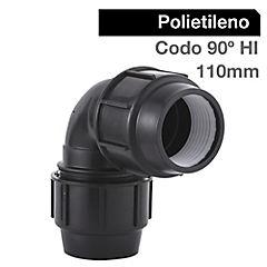 Codo 90º 110 mm polipropileno