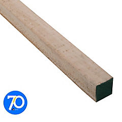 2x2'' x  3.2 m Pino dimensionado verde