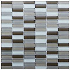 Malla mosaico 30x30 cm marrón