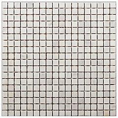 Malla mosaico 30x30 cm gris/blanco