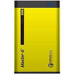 Batería portátil 15000 MAH qualcomm amarilla