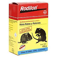 Raticida Rodilon en bloque 100 gr