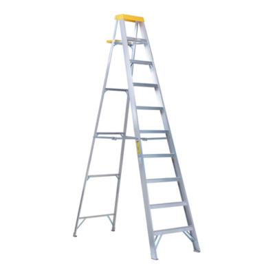 Alto m escala tijera aluminio 9 pelda os for Escalera plegable aluminio sodimac