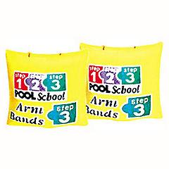 Flotador para brazos plástico amarillo