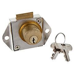 Cerradura para cajón parche cuadrado 6239