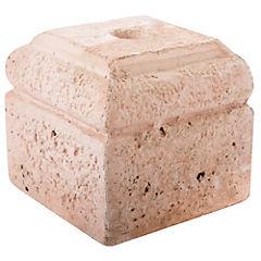 Base para quitasol hormigón 19 cm rojo