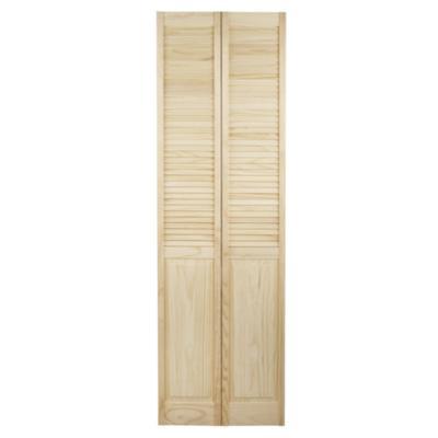 Puerta closet pino celos as 60x200 cm for Valor closet en madera