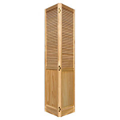 Puerta closet pino celosías 76x200 cm - Sodimac.com