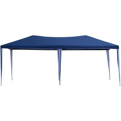 Toldo poli ster 300x600x250 cm azul for Accesorios para piscinas inflables