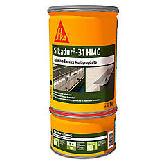 Juego (A+B) 1 kg Sikadur 31 Hi-Mod Gel, adhesivo dos componentes base de resinas epóxicas
