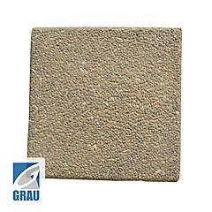 Pastelón 40 x 40 x 4 cm Cuadrado Piedra Playa