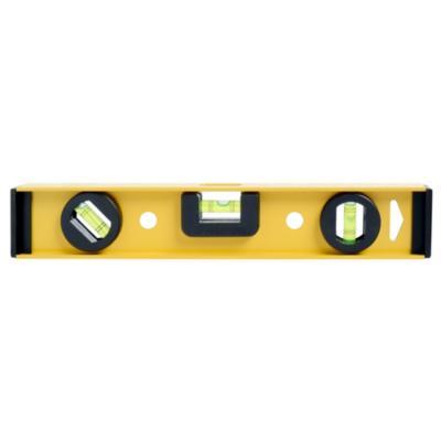 Nivel de aluminio 12 amarillo for Escalera plegable aluminio sodimac