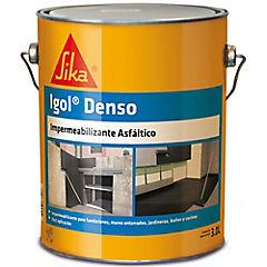3 litros Pintura Asfáltica Impermeable Igol Denso