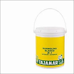 Marmolina exterior Rodillo R1 1 gal. Blanco