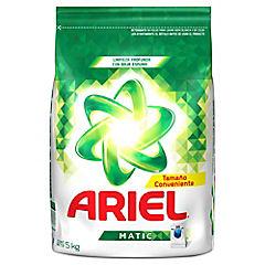 Detergente Ariel en polvo 5 kg.
