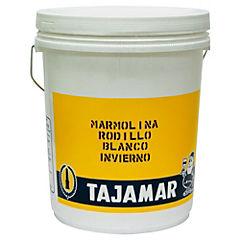 Marmolina exterior Rodillo R1 5 gal. Blanco inv.