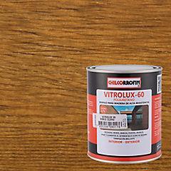 Barniz Vitrolux 60 Roble Claro 1/4 galón