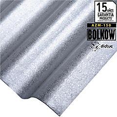 0.30 x 851 x 3660 mm, Plancha Acanalada Onda Toledana Zincalum  gris