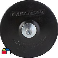 Respaldo de goma 125 mm