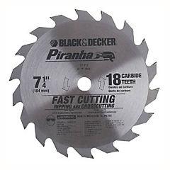 Disco sierra circular 18 dientes 7 1/4''