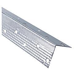 30x30mm x2.40 ml  Perfil tabiques esquinero perforado