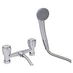 Combinación para ducha Plateado