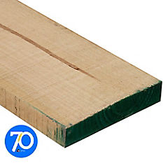 2x10'' x  3.2 m Pino dimensionado verde