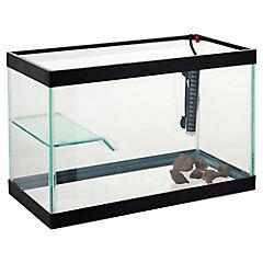 Kit completo para tortuga 40 x 25 x 30 cm con plataforma y marco