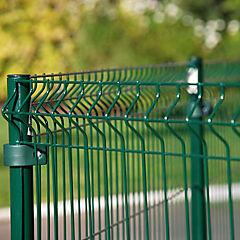 Panel cerco metal 125x150 cm verde