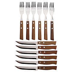Juego de cuchilleria 12 piezas