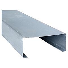 2,5m Perfil C 2x4x0,85 Metalcon estructural perforado