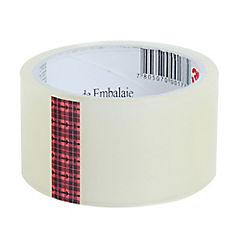 Cinta adhesiva para embalaje transparente 48 mm 40 m