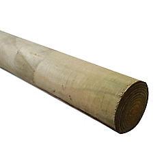 4'' a 4 1/2'' 100 a 115 mm x  2.44 m Polin impregnado