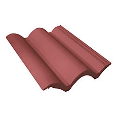 420 x 334 mm Teja hormigón Colonial Rojo
